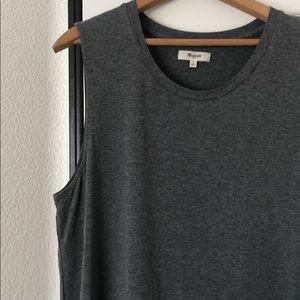 Grey dress, Madewell
